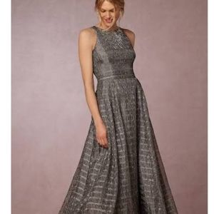 Aidan Mattox  Sleeveless Halter Embellished Dress